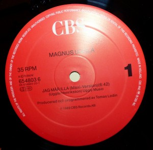 Magnus Uggla Vinylskiva
