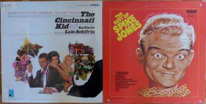 Cut-out Lalo Schifrin Spike Jones
