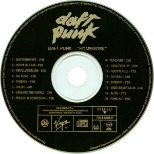 Daft Punk CD