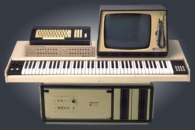 Fairlight CMI synt