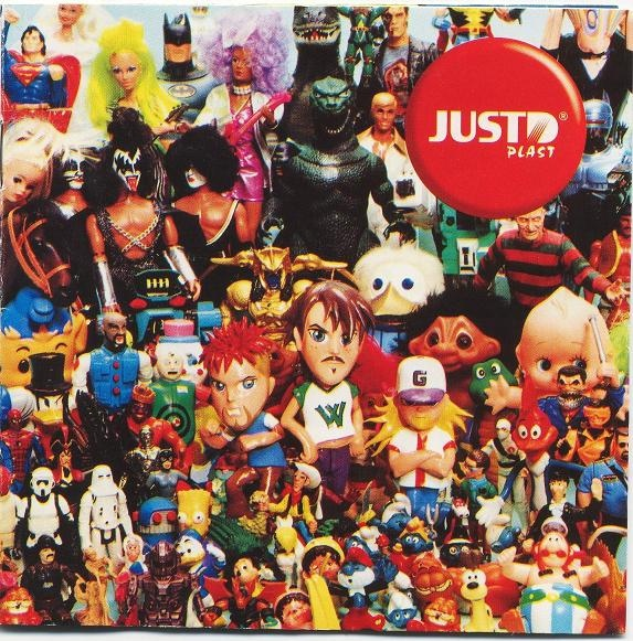 Just D Plast skivomslag