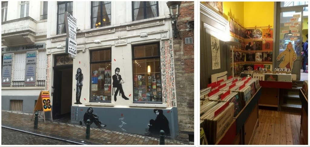 Arlequin, record store, Brussels.