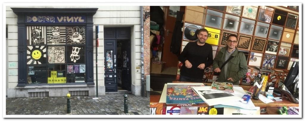 Dr Vinyl, Record shop, Brussels