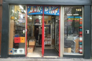 Jukebox, record store Brussels