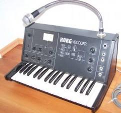 KORG vc10 vocoder