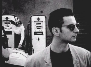 behind-the-wheel Depeche Mode