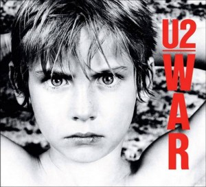 U2 war album skivbacken