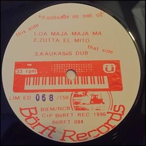 Börft Records ü Kaukasüs nu och då