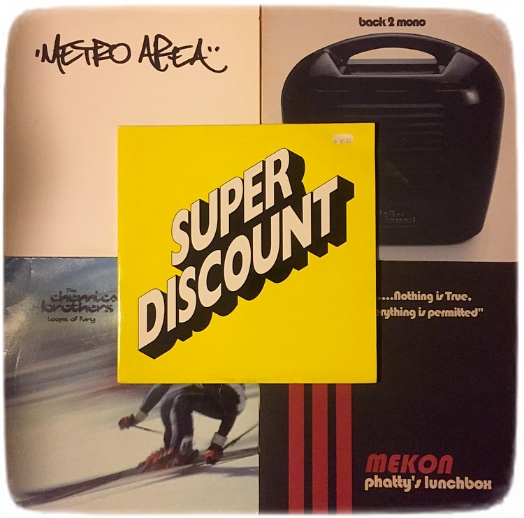 P3 Dans Metro Area Chemical Brothers Mekon Wall of Sound Super Discount