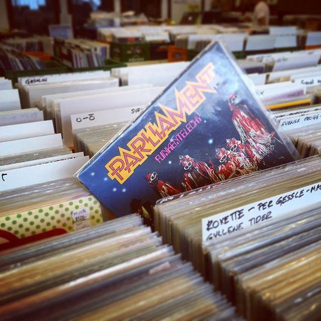 Hot Stuff Parliament vinyl