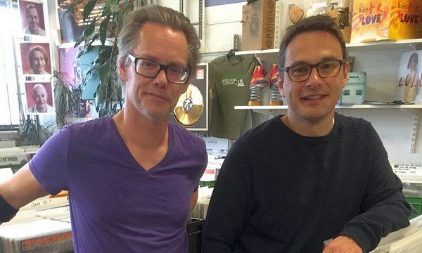Per Faeltenborg Hot Stuff och Per Lindkvist skivbacken