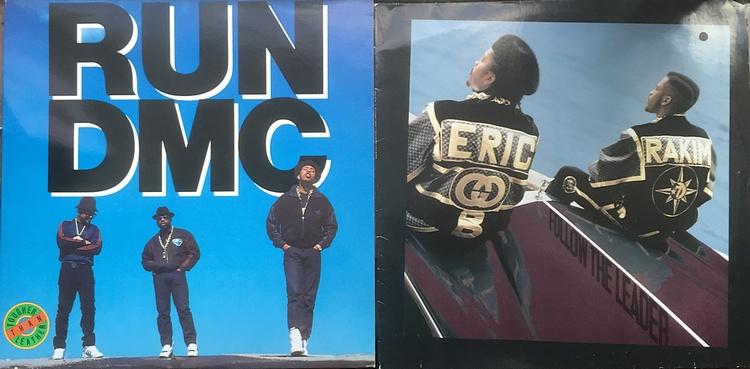 Run DMC Eric B Rakim