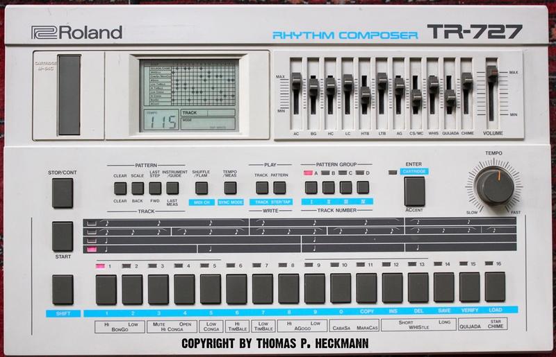 Roland Tr-727, skivbacken
