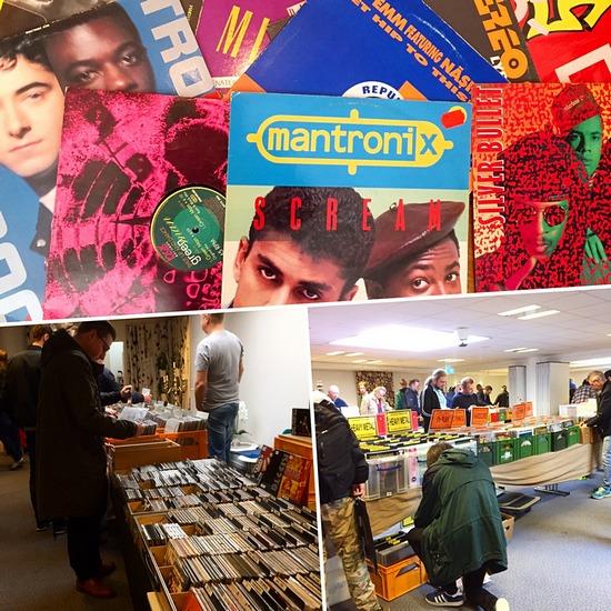 Skivmässa record fair Mantronix